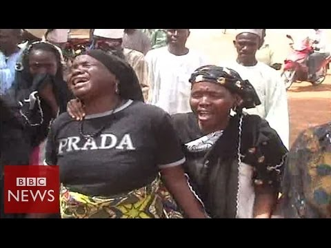Video: Nigerian school where 200 girls were abducted from - BBC News
