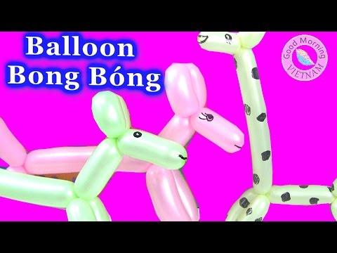 Hướng Dẫn Cách Làm Chó Và Hưu Cao Cổ Bẳng Bong Bóng Balloon  Animal [ Bí Đỏ ]
