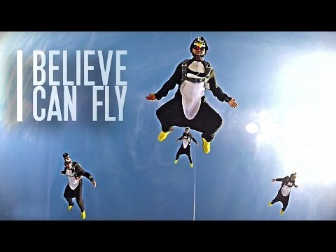 The Skydiving Penguins: I Believe I Can Fly