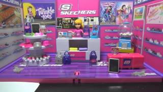 Skechers Shoe Store MiWorld Play Set From Jakks Pacific