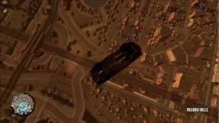 GTA IV GIUDE: How To Fly In A Car (WITHOUT CHEATS!!)
