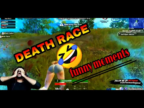 DEATH RACE    FUNNY MOVEMENT    PUBG MOBILE