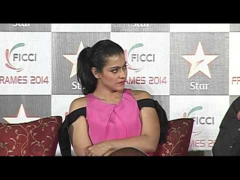 Kajol At FICCI Frames 1 Part 2