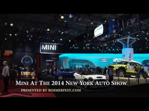 Mini at the 2014 New York Auto Show