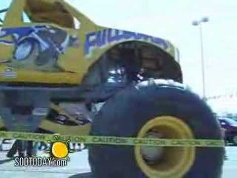 Monster Jam - PartSource Store Grand Opening with Full Boar Monster Truck