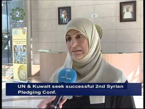 UN & Kuwait seek successful 2nd International Humanitarian Pledging Conference for Syria