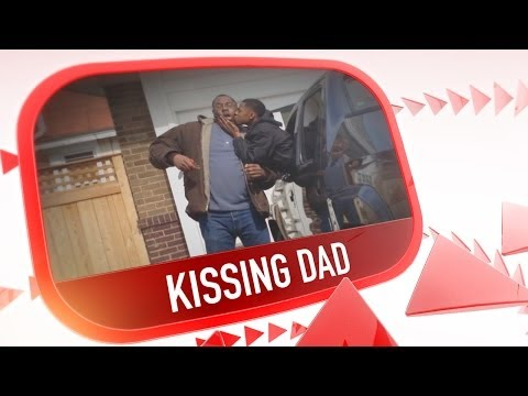 Kissing Dad First Look #newtrends