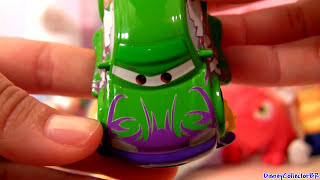 4 Impound Cars Die-cast Rare From Disney Pixar Boost Wingo