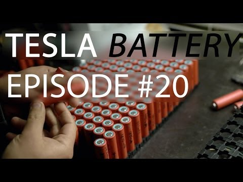 eSamba project Ep #20 - Where are the Tesla Batteries?