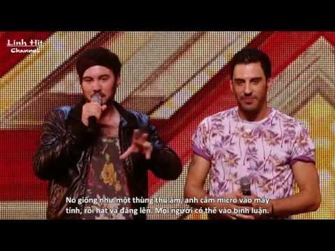 [Vietsub]Cặp vợ chồng đồng tính nam làm rung động người xem The X Factor với