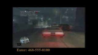 Grand Theft Auto 4 (GTA IV) Cheats Change Weather