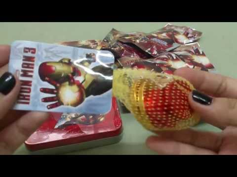 Iron Man 3 candies from Thailand