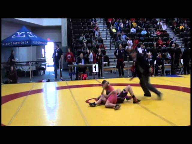 2014 CIS Championships: 48 kg Jade Parsons vs. Monica Wood