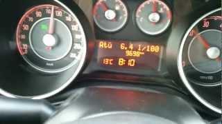 Yeni Linea 120 Km/h hızda Anlık Yakıt Tüketimi