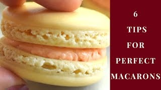 How to make french macarons / 6 Tips for making perfect Macarons