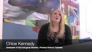 Graduate story: Chloe Kennedy - BA History and Sociology - video