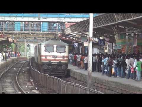 3 CRACK RAJDHANI EXPRESS HONOURING DADAR RAILWAY STATION IN MUMBAI - INDIAN RAILWAYS