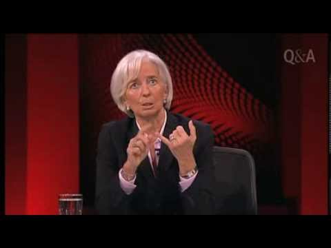 Q&A Sneak Peek -  Christine Lagarde