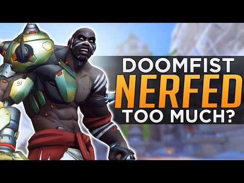 Overwatch: Doomfist NERFED Too Much, Too Soon!?