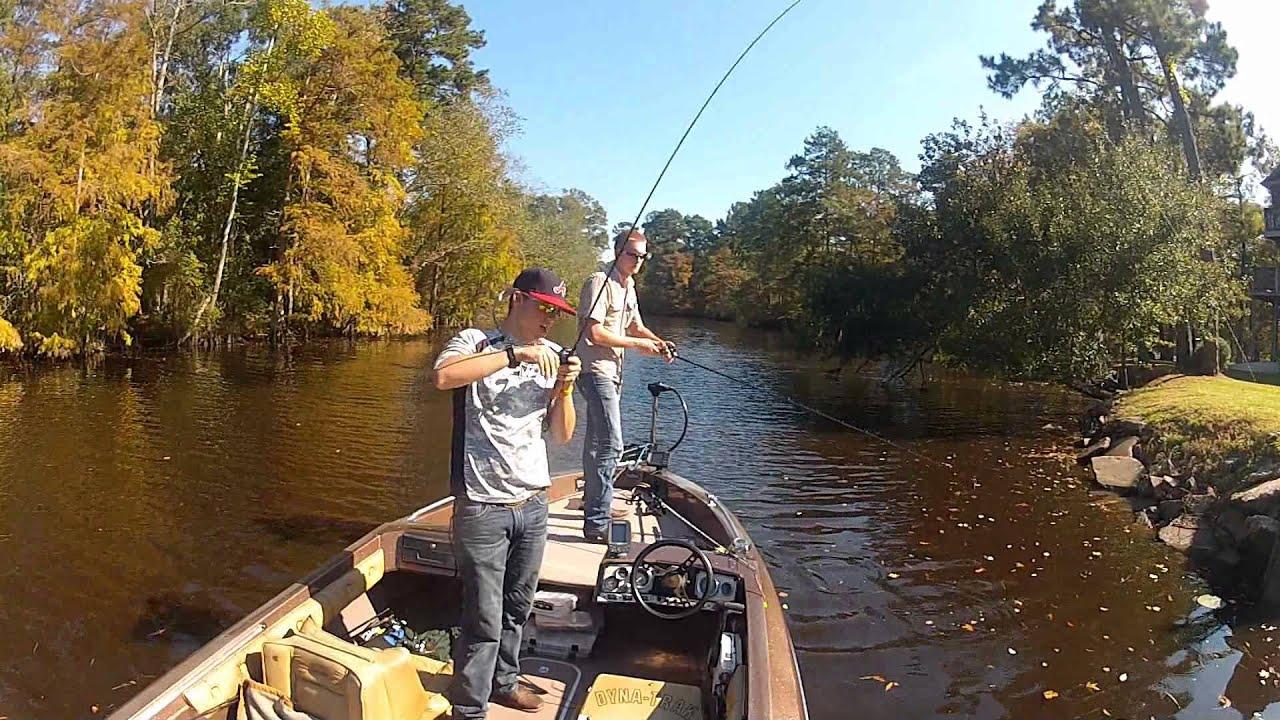 Gopro lake houston fishing trip 10 youtube for Fishing in houston