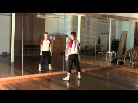 Michael Jackson Thriller Dance Tutorial 2/4 (Instructions for the 2nd half)