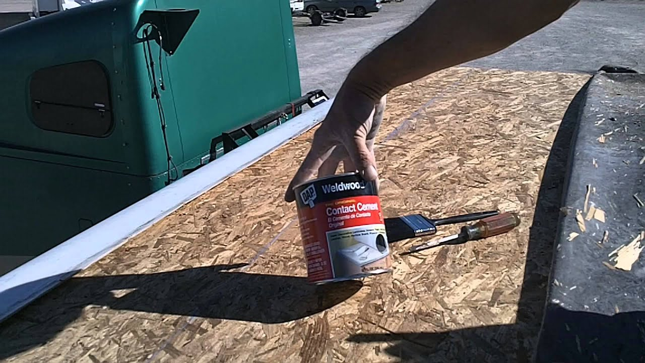 Roof Repair Youtube Rv Roof Repair Video