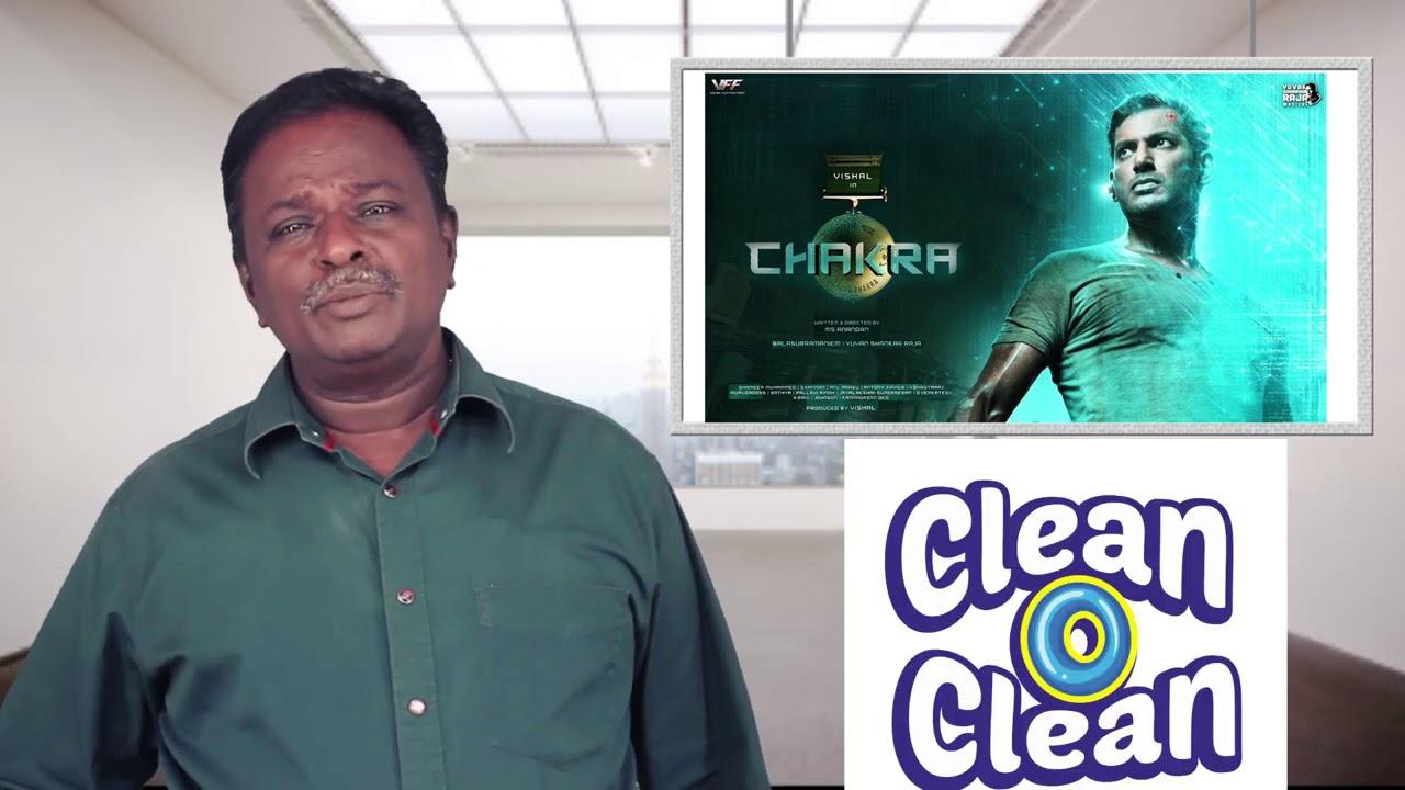 CHAKRA Movie Review - Vishal - Tamil Talkies