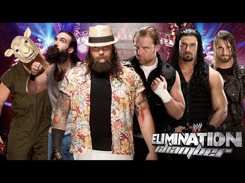 WWE 2K14: WWE Elimination Chamber 2014: The Wyatt Family vs The Shield - 6 Man Tag Team Match