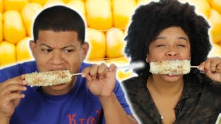 Dominicans Try Elotes For The First Time