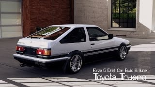 Forza 5 Drift Car Building & Tuning #6 Toyota Trueno