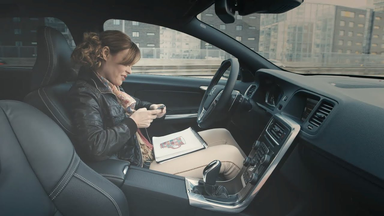 Autonomous driving by Volvo - YouTube