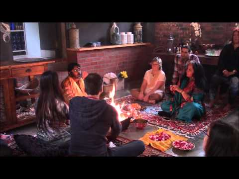 Astrology Restored 2015: Navagraha Puja opening ceremony