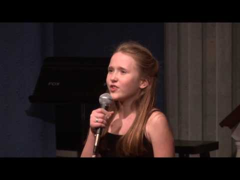 Bailey Grey - Soon Its Gonna Rain from THE FANTASTICKS