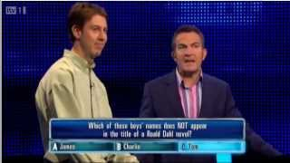 ITV The Chase Tom And The Great Big Sausage
