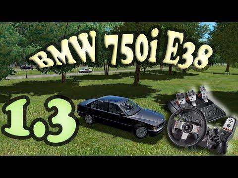 BMW 750i E38 City Car Driving G27 BR