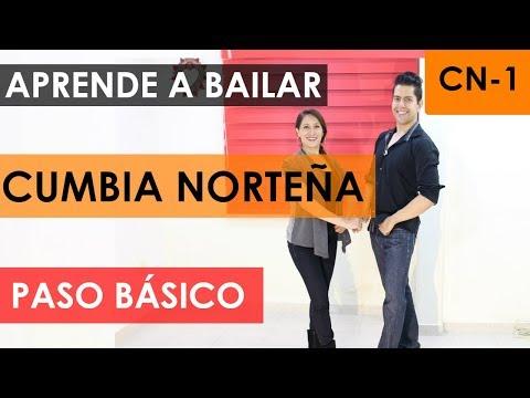 COMO BAILAR CUMBIA NORTEÑA - PASO BÁSICO
