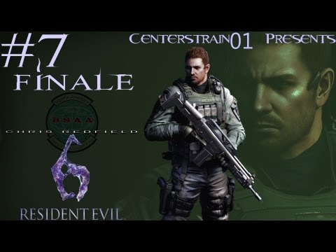 Resident Evil 6 Walkthrough Chris Redfield - Part 7 Finale - Chapter 5 - Brothers Till The End