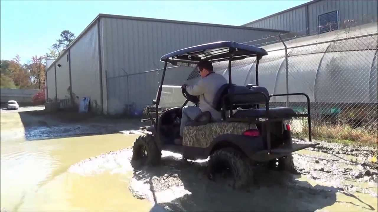 The Judge 4x4 Electric Golf Carts Youtube
