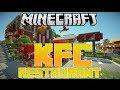 MineCraft PS3 Edition Gameplay| KFC Restaurant Hunger