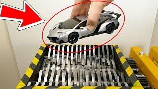 SHREDDING TOYS !!  - The Shredder Show  - Experiment At Home