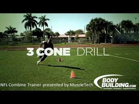 NFL Combine Trainer: Cone Drill - Bodybuilding.com