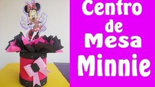 Centro De Mesa Minnie Mouse
