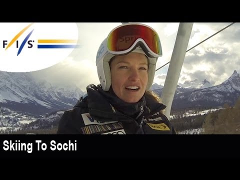 Skiing to Sochi with Julia Mancuso