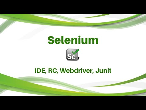 What is Selenium  - Selenium Training, Selenium IDE, RC, Selenium Webdriver Junit
