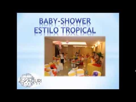 Decoracion para Baby Shower - Eventos Bradly