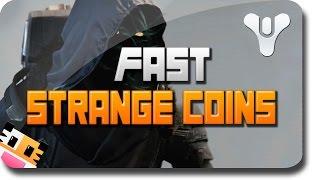 """Destiny Strange Coins """"Fast Strange Coins"""" And """"Easy"""