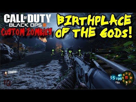 Call of Duty Black Ops 3 Custom Zombies on Teotihuacan Easter Egg Attempt #2 part 1