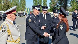 Випускники ХНУВС отримали погони офіцерів поліції
