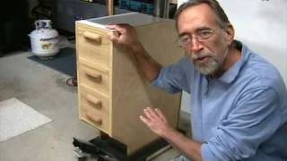 The Down To Earth Woodworker Drill Press Cabinet