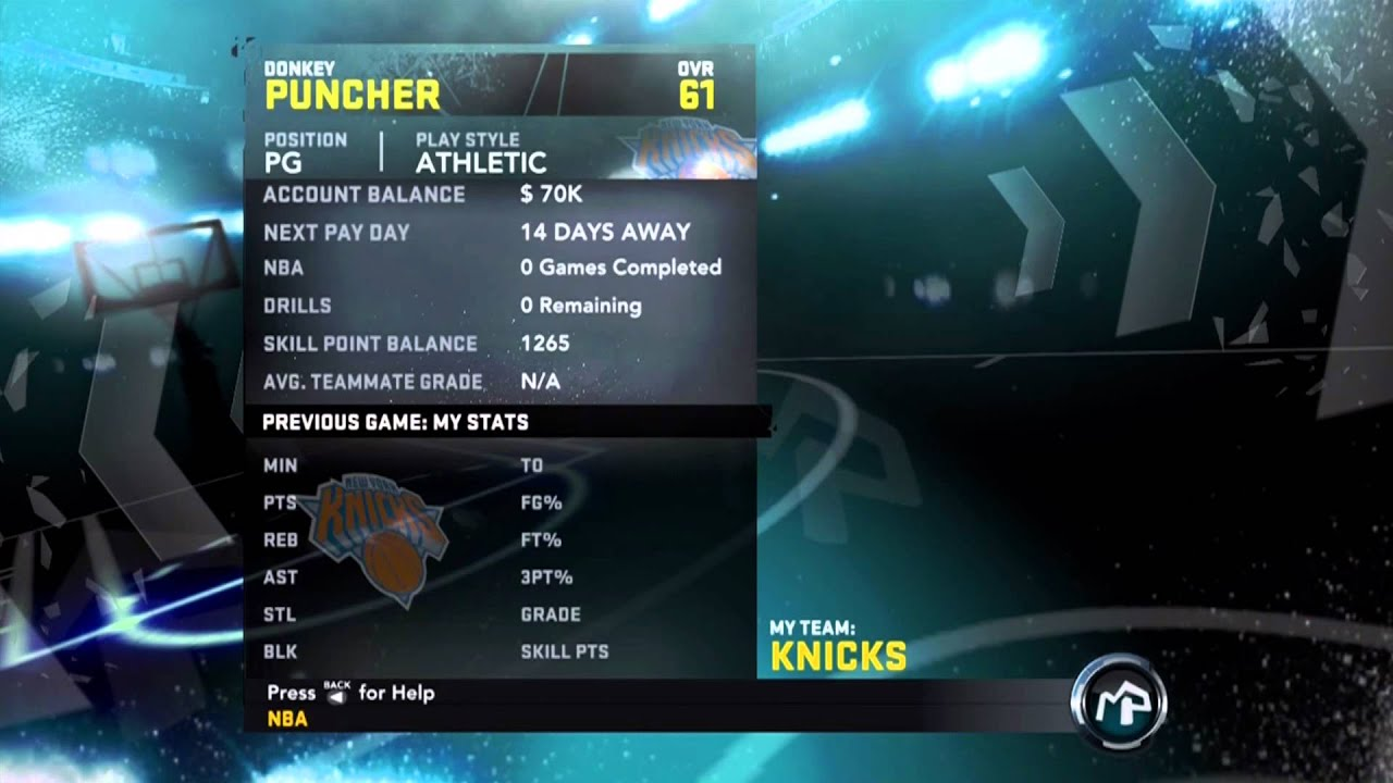 Nba 2k12 My Player Xbox 360 Cheats